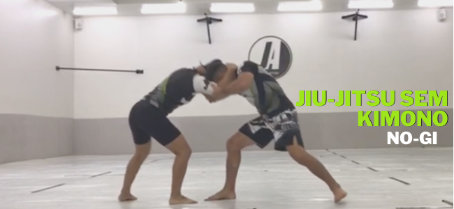 Jiu-Jitsu sem Kimono